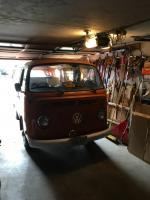 Hobobus in the garage