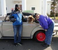 """Old VWs supported """"The Christmas Caddy"""" in Branford, CT"""