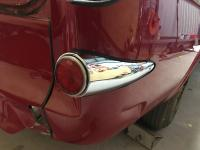 Tail lights and reflectors