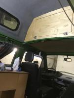 green Urabus van bulkhead