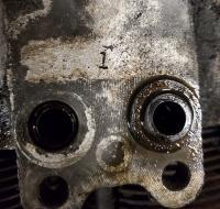 Oil cooler gaskets
