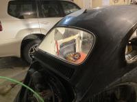 Rear windshield in