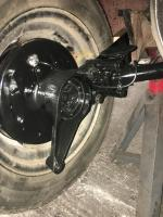 Bay window irs rear suspension swap