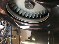 Rear fan clearance