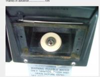 Vanagon Westfalia water filler lock