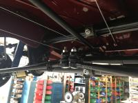 Adjustable front beam shift rod