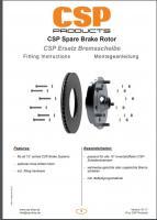 CSP Vented Rotor Hub