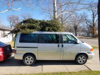 Eurovan Christmas tree