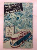 1959 Colorado Pikes Peak Region Map