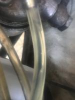 Champagne sized bubbles in my fuel line