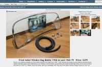 Kaefer-Nostalgie safari window for bugs