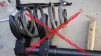 Dangerous type of spring compressor