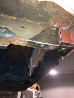 Schofield rear frame repair