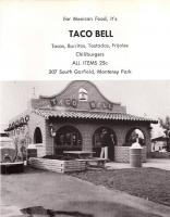 Old Taco Bell with VW