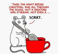 Merry Xmas mouse