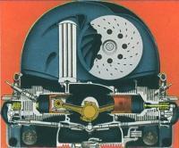 Cutaway 36hp engine