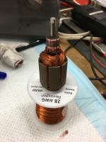 rewound Eberspacher D2L motor