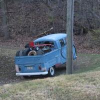 68 double cab doing work