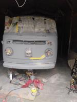 1976 VW Bus Front Primed