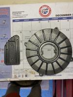Cast Coil Mount & Generator Backing Plate