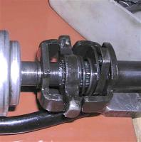 vanagon wbx gear selector shaft in transmission