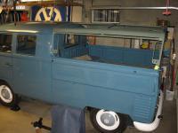 "Brazilian low-profile ""tilt"" frame on my '59 DC"