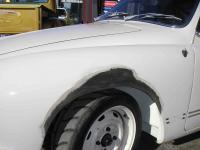 Karmann Ghia front guard