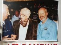 Don Narus, Major Ivan Hirst and Bill Bowman during the 1999 Return to the Fatherland Tour