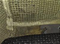 1967 convertible original luggage compartment bottom stitching