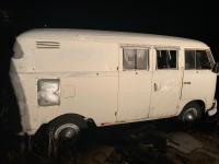 1965 pearl white Caravelle panel camper
