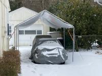 Snow on Canopy