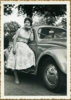 Lady and her Beetle