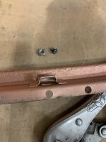 54 Oval Ragtop Rail Repair