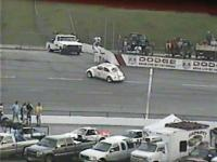 Herbie spotted at the track