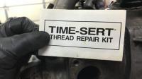 1.9 WBX exhaust thread repair