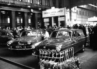 1967 Scottish motor show with Variant and 1600TL Fastback