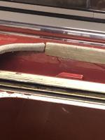 Type 3 sunroof felt seal