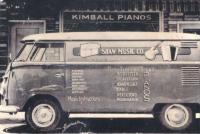 Shaw Music Company Logo Bus - Sedalia, Missouri