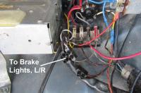 1956 Brake Light Trunk Wiring