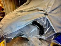 applying epoxy coat before to weld the patch