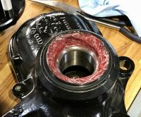 Vanagon Syncro front wheel bearing grease overpacked mistake error