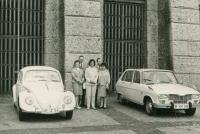 Beetle and unknown car