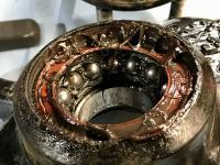 Vanagon Syncro front wheel hub bearing grease mistake