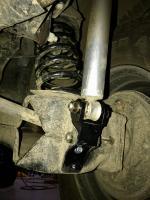 Vanagon rear shock extender extension t3 technique