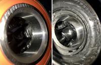 Vanagon Syncro front wheel bearing inner race