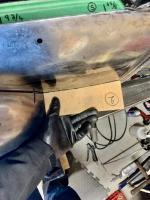 quarter panel patch weld