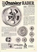 RADER Wheels Ad 1965