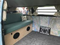 full width bed