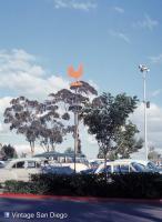 San Diego Zoo parking lot 1968