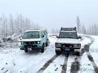 Vanago Syncro snow day